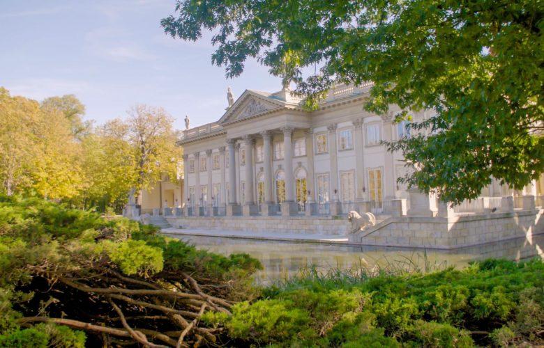 łazienki Królewskie Warszawa Na Filmowo